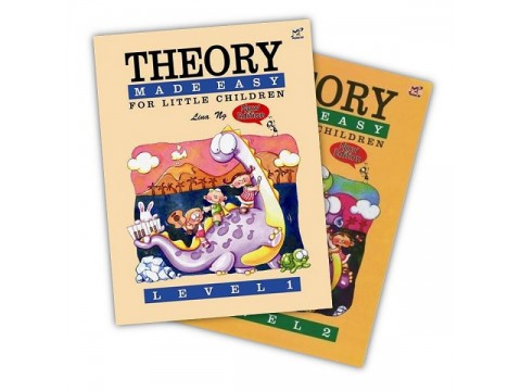 Bộ THEORY MADE EASY FOR LITTLE CHILDREN