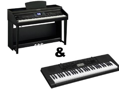 Sự khác nhau giữa đàn Piano và đàn Organ