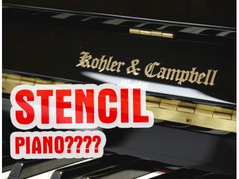 """Đàn piano """"Stencil""""? Có nên mua loại đàn này không?"""