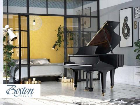 Đàn Piano Boston Thiết Kế Bởi Steinway - Sản Xuất Kawai?