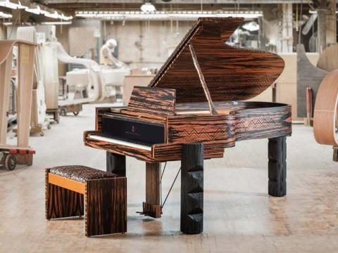 """Piano Steinway """"Kravitz Grand"""" – Một tác phẩm nghệ thuật thật sự"""