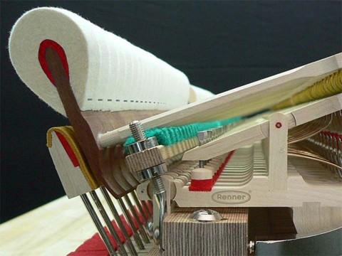 Piano Renner - Thương hiệu sản xuất bộ máy đàn piano cơ