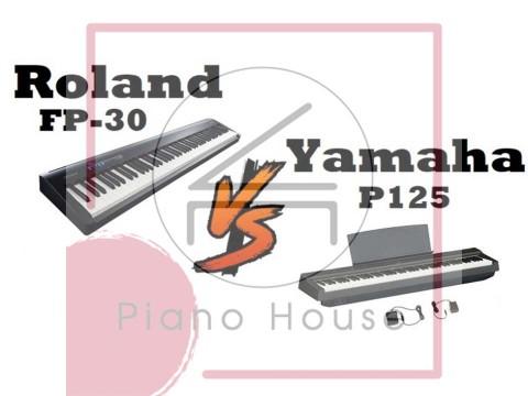 So Sánh Roland FP-30 và Yamaha P125