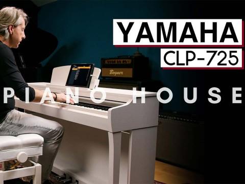 So sánh đàn piano điện Yamaha CLP725 vs DGX670