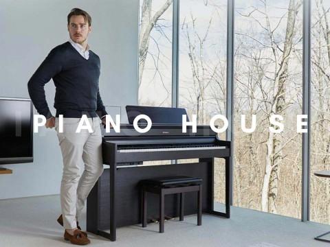 Review đàn piano điện Roland HP704