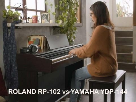 So Sánh Roland RP-102 và Yamaha YDP-144