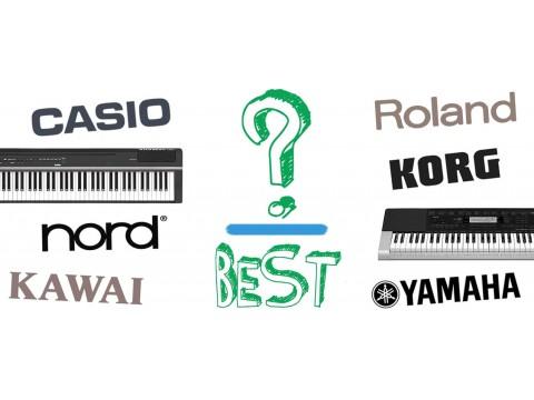 So sánh thương hiệu đàn piano điện