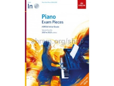 INITIAL ABRSM - Piano Exam Pieces 2021 & 2022 - No CD