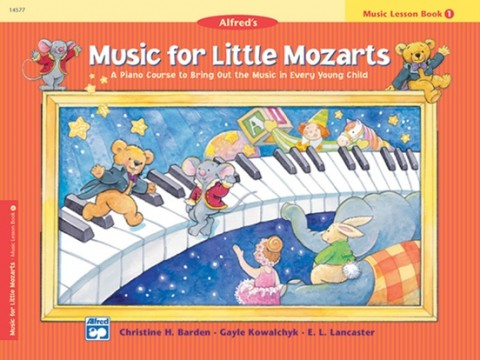 Music for Little Mozarts: Music Workbook 1