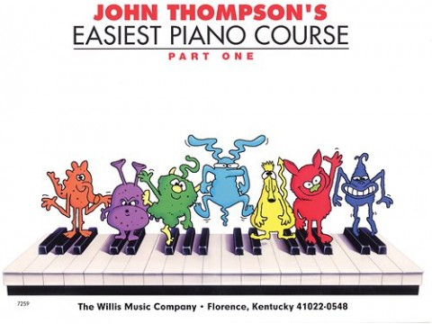 Bộ JOHN THOMPSON'S easiest piano course