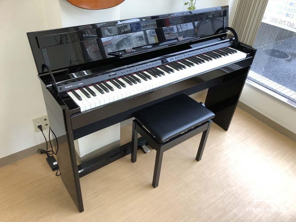 Đàn Piano ROLAND DP90Se PE - Đen Bóng - Mới 97% - Giá Tốt HCM - BH 2 năm    Piano House Vn