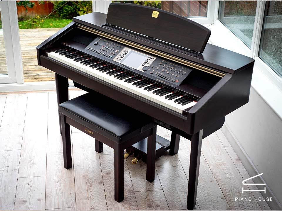 Đàn Piano Điện Yamaha CVP 207 R - Phím Gỗ - Điệu Đệm Hát - Giá Tốt | Piano  House Vn