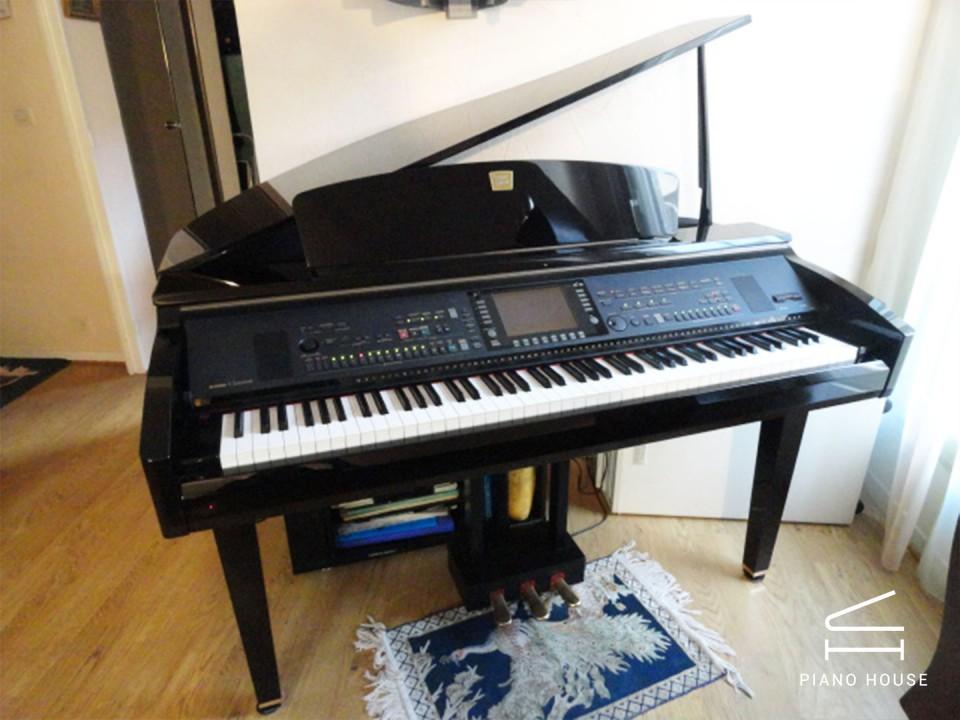 Bán đàn Piano YAMAHA CVP 309 GP 3 chân chính hãng Japan | Piano House Vn