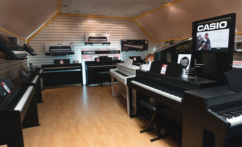 cung cấp đàn piano điện trường học