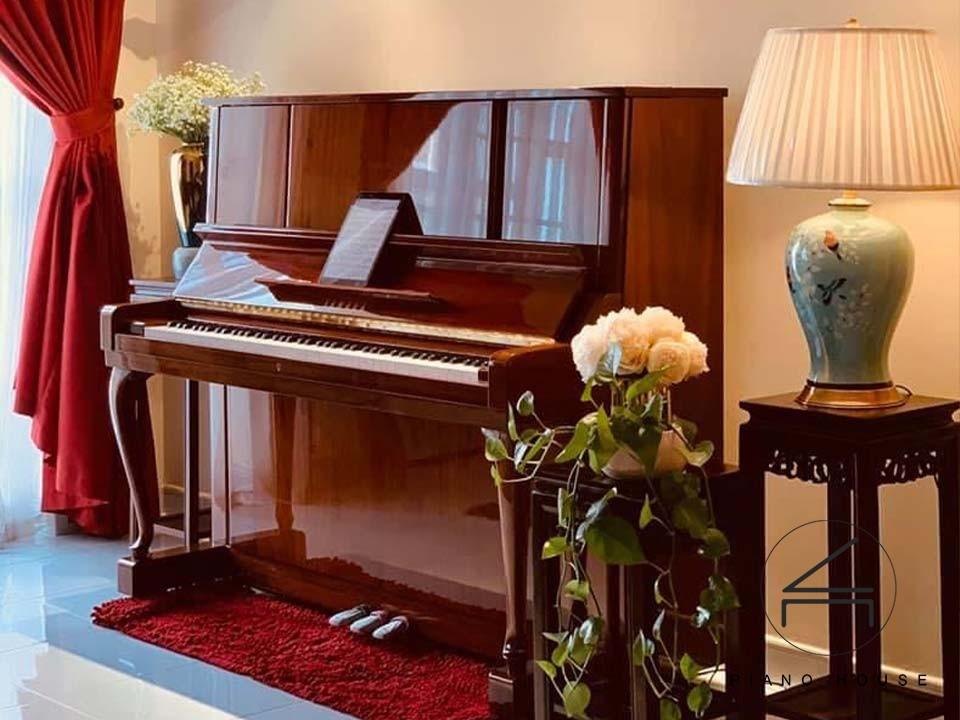 đàn piano cơ upright yamaha w106