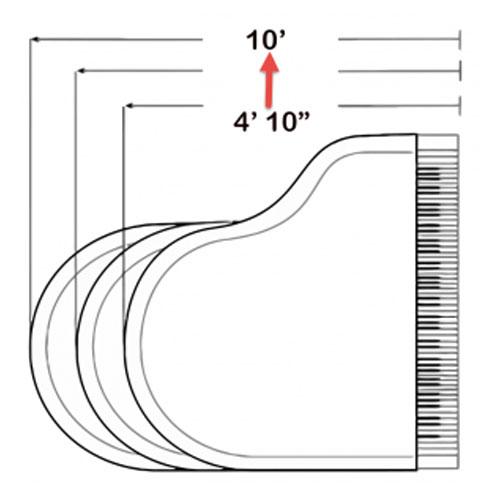 Cách đo kích thước grand piano
