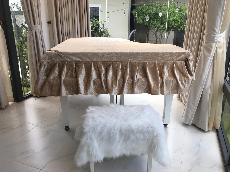 khăn phủ đàn grand piano