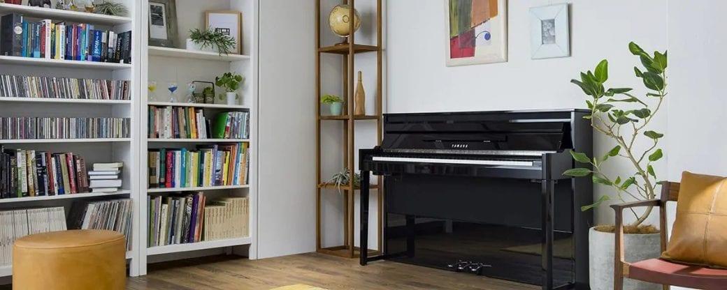 đàn piano lai cơ yamaha nu1