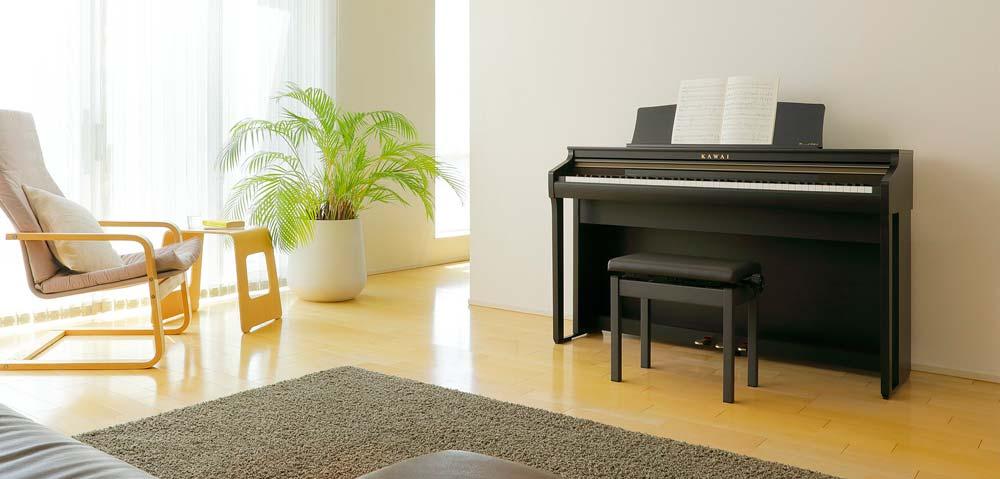 đàn piano điện kawai ca48
