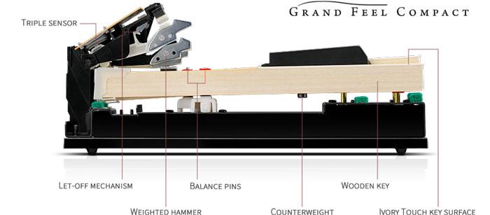 hệ phím grand feel compact