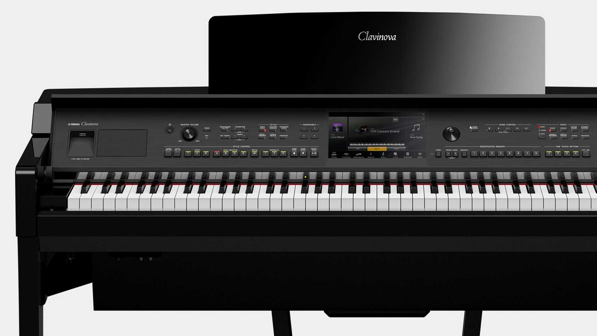 đàn piano điện yamaha cvp809