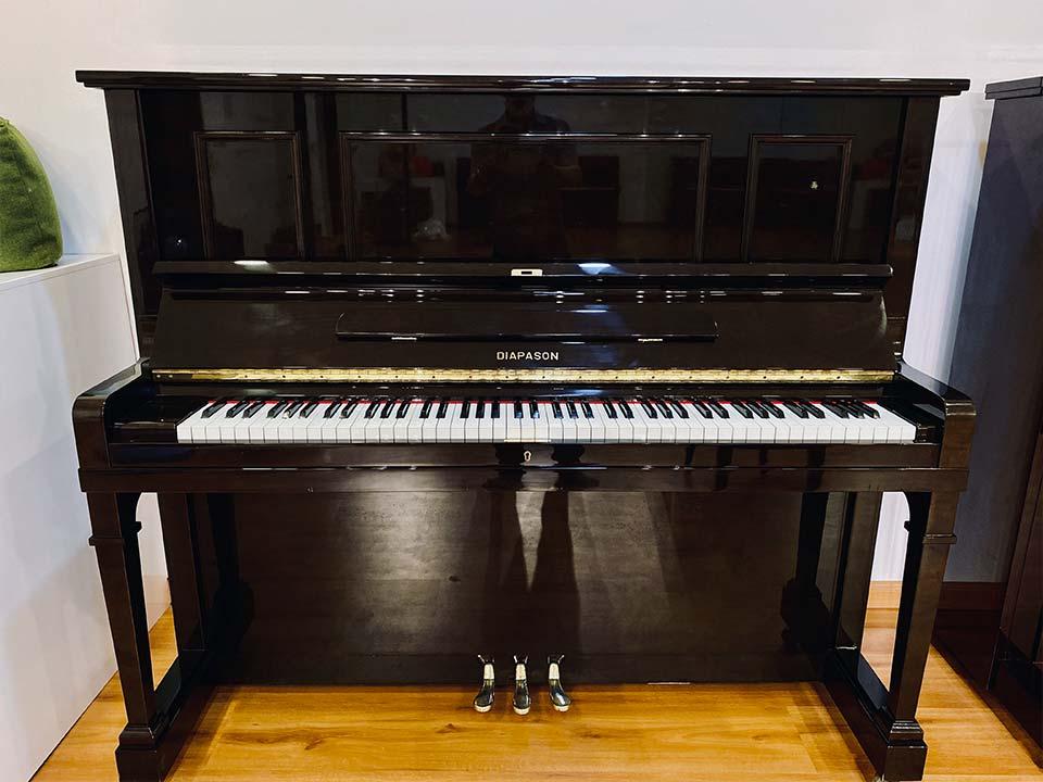đàn piano diapason 132 bw